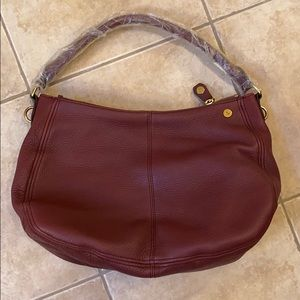 J.Crew Burgundy Handbag NWT